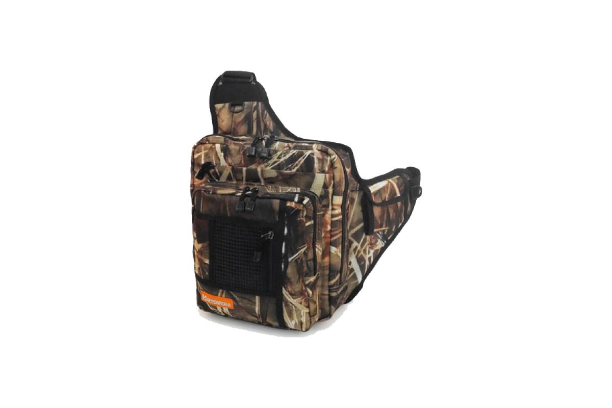 Сумка Geecrack Shoulder Bag GII wood-camo