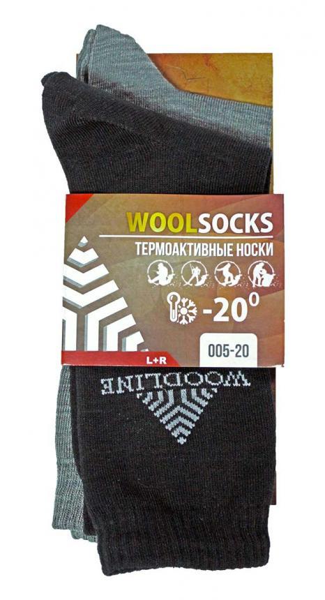 Комплект термоносков WoodLine Wool 44-46 - фото предоставленно поставщиком 2
