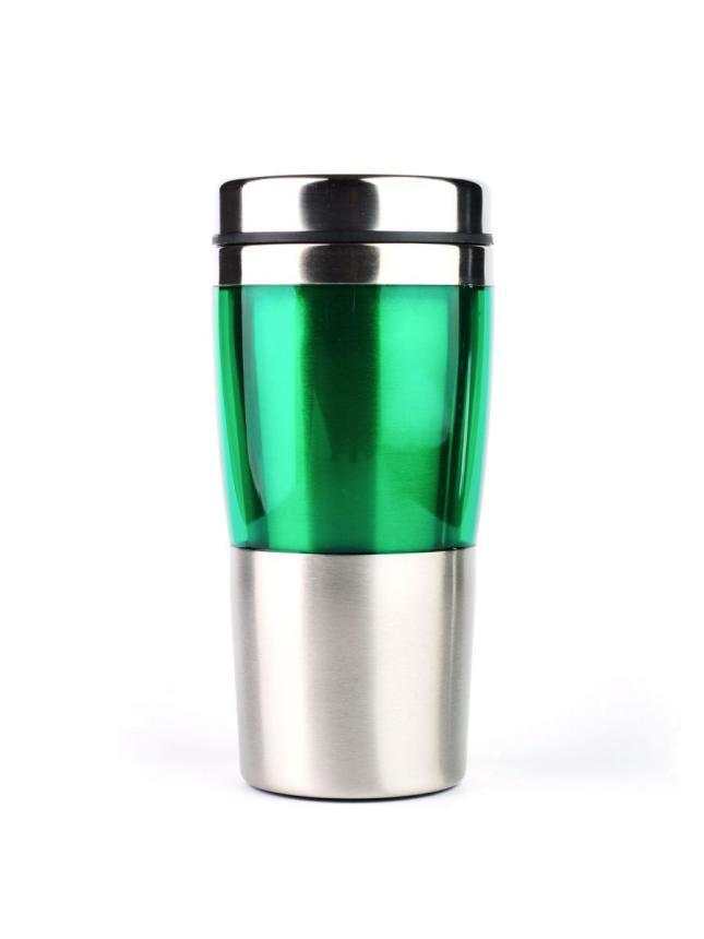 Автостакан термо Barouge 450мл зеленый