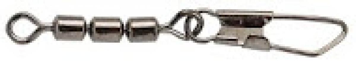 Вертлюг SPRO 3-Jointed Roll-Swive+Snap №22