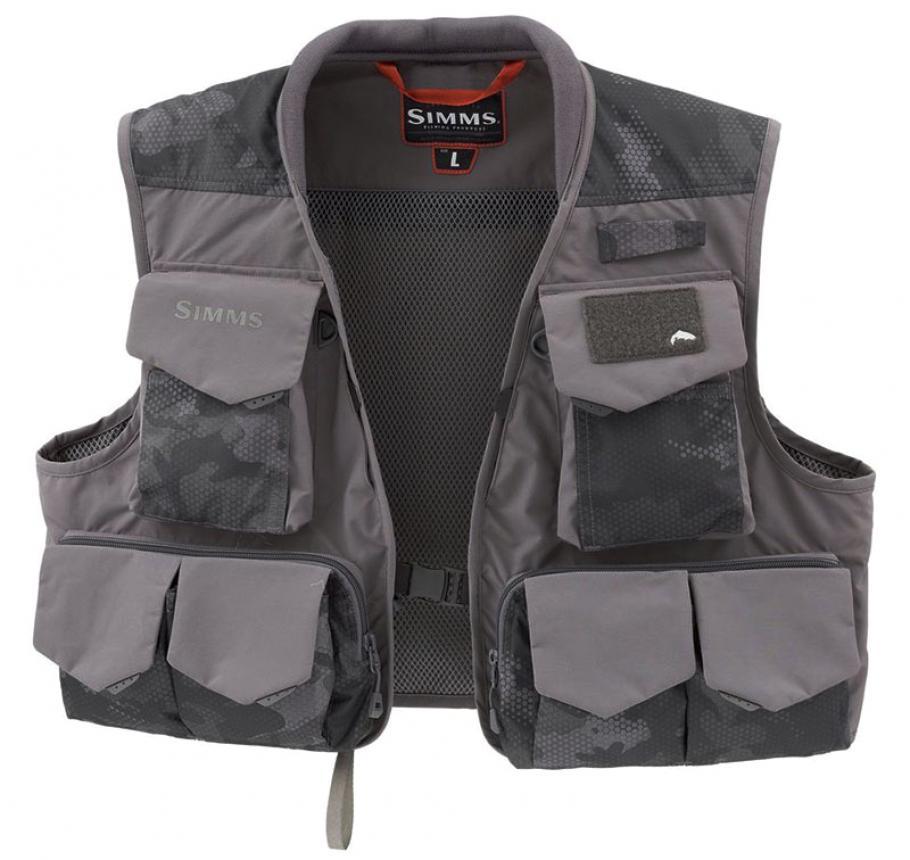 Жилет Simms Freestone Vest XXL Hex Flo Camo Carbon