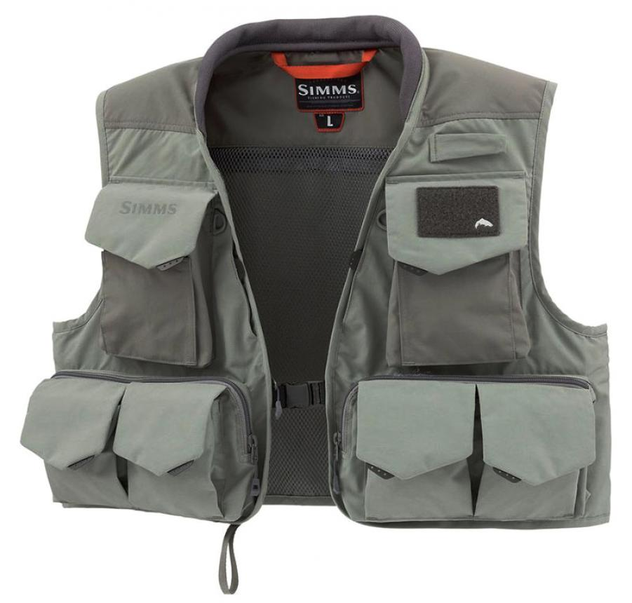 Жилет Simms Freestone Vest L Striker Grey