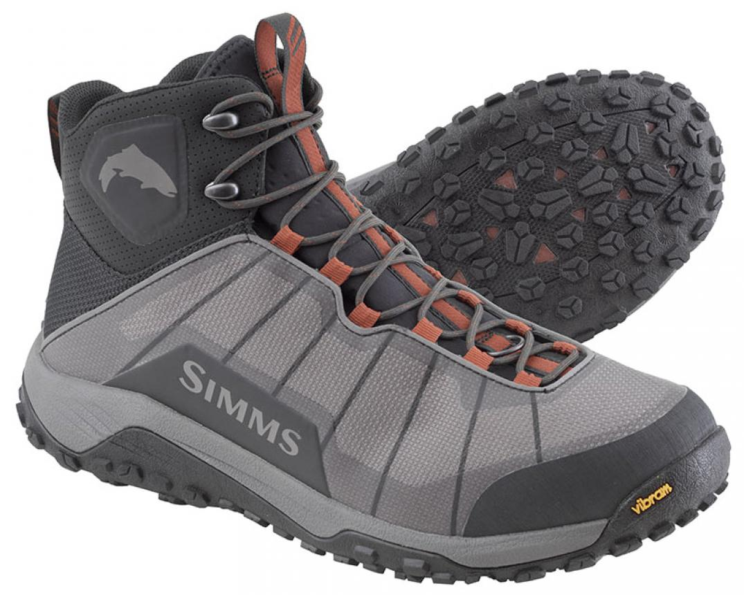 Ботинки Simms Flyweight Boot 10 Steel Grey
