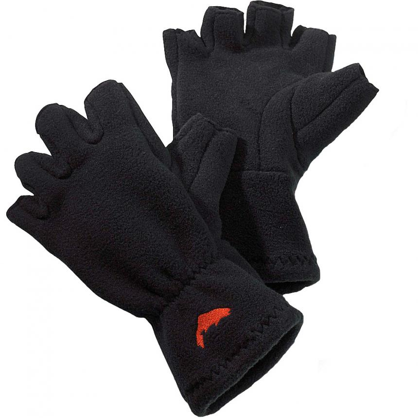 Перчатки Simms Freestone Half-Finger Glove S Black