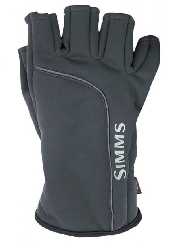 Перчатки Simms Guide Wildbloc 1/2 Mitt S Raven