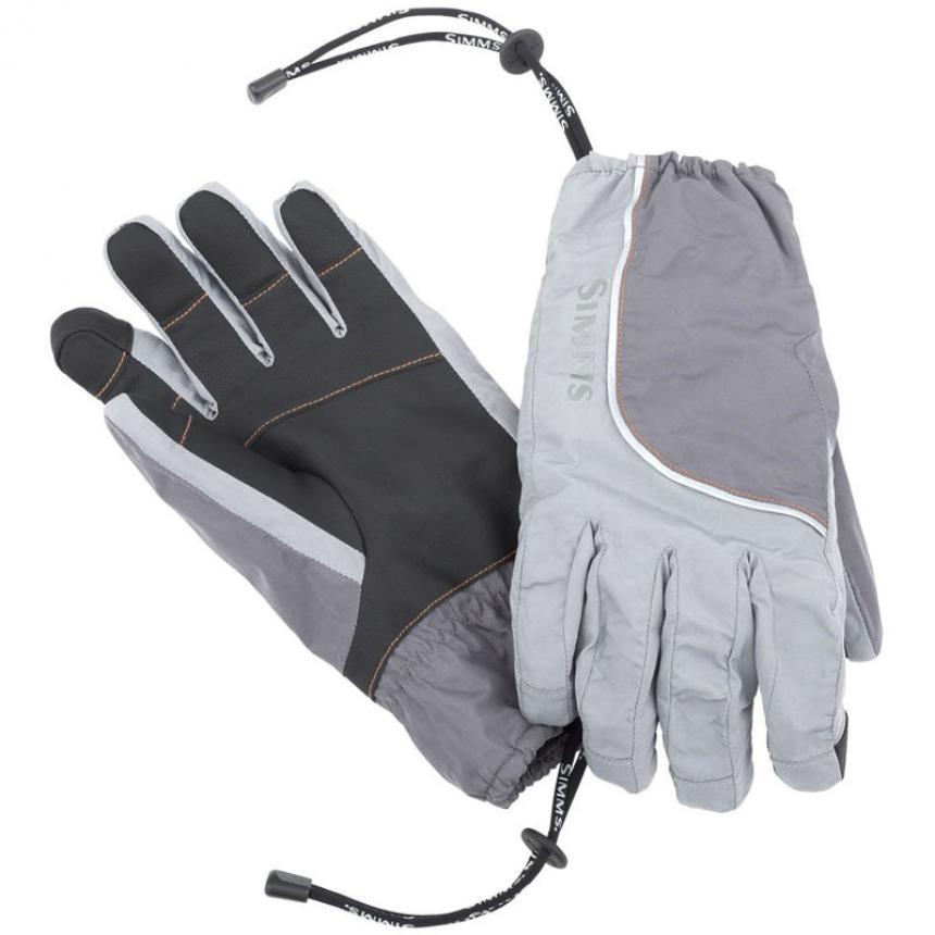 Перчатки Simms Outdry Shell Glove L Steel