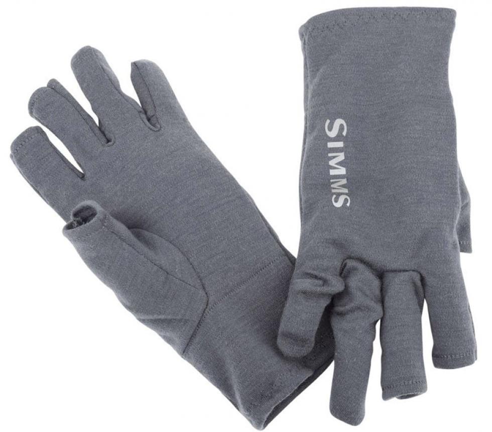 Перчатки Simms Ultra-Wool Core 3-Finger Liner L Carbon