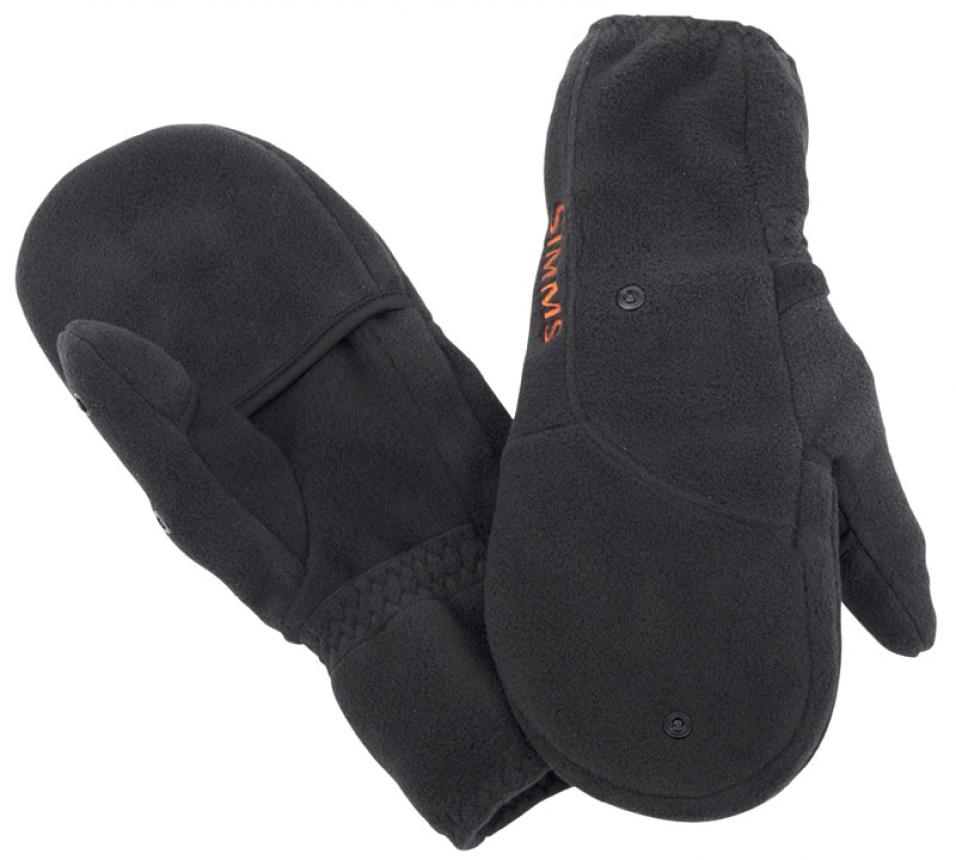 Варежки Simms Headwaters Foldover Mitt M Black