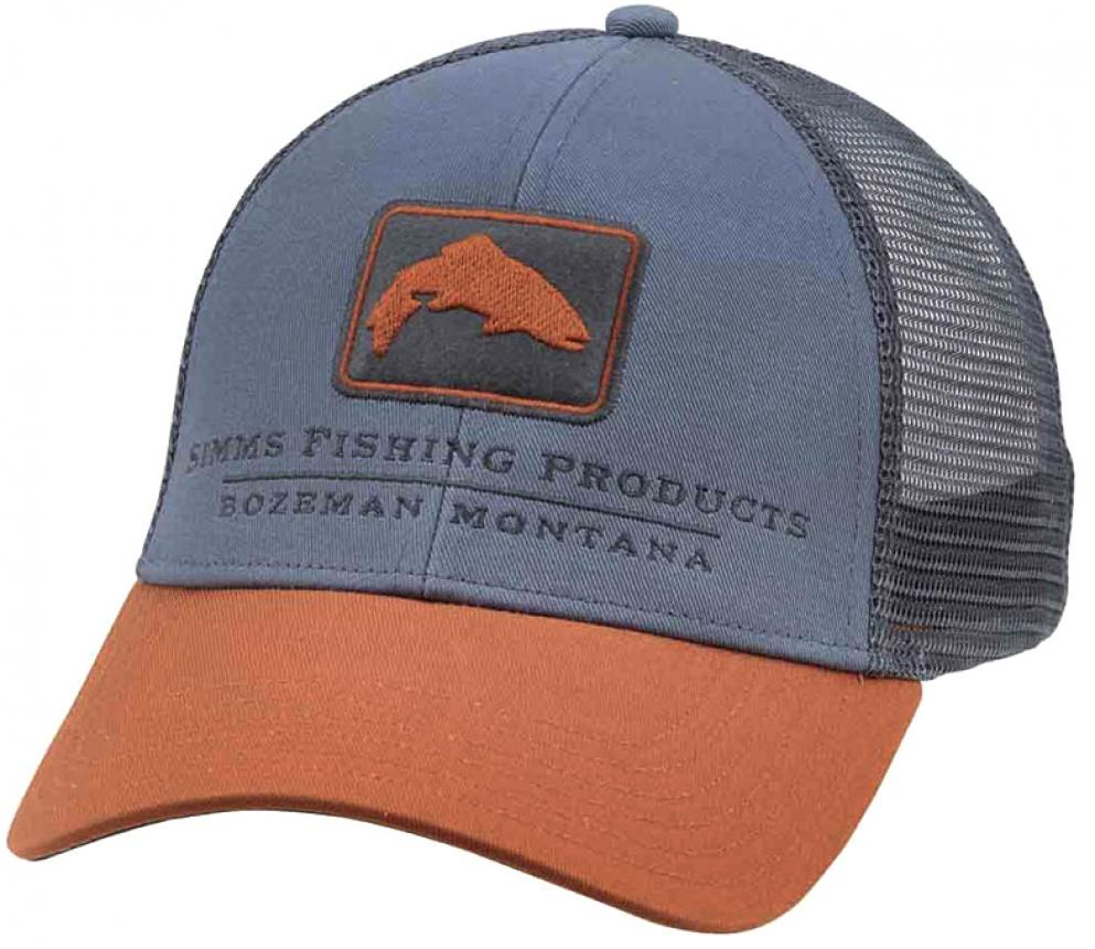 Кепка Simms Trout Icon Trucker Cap Storm