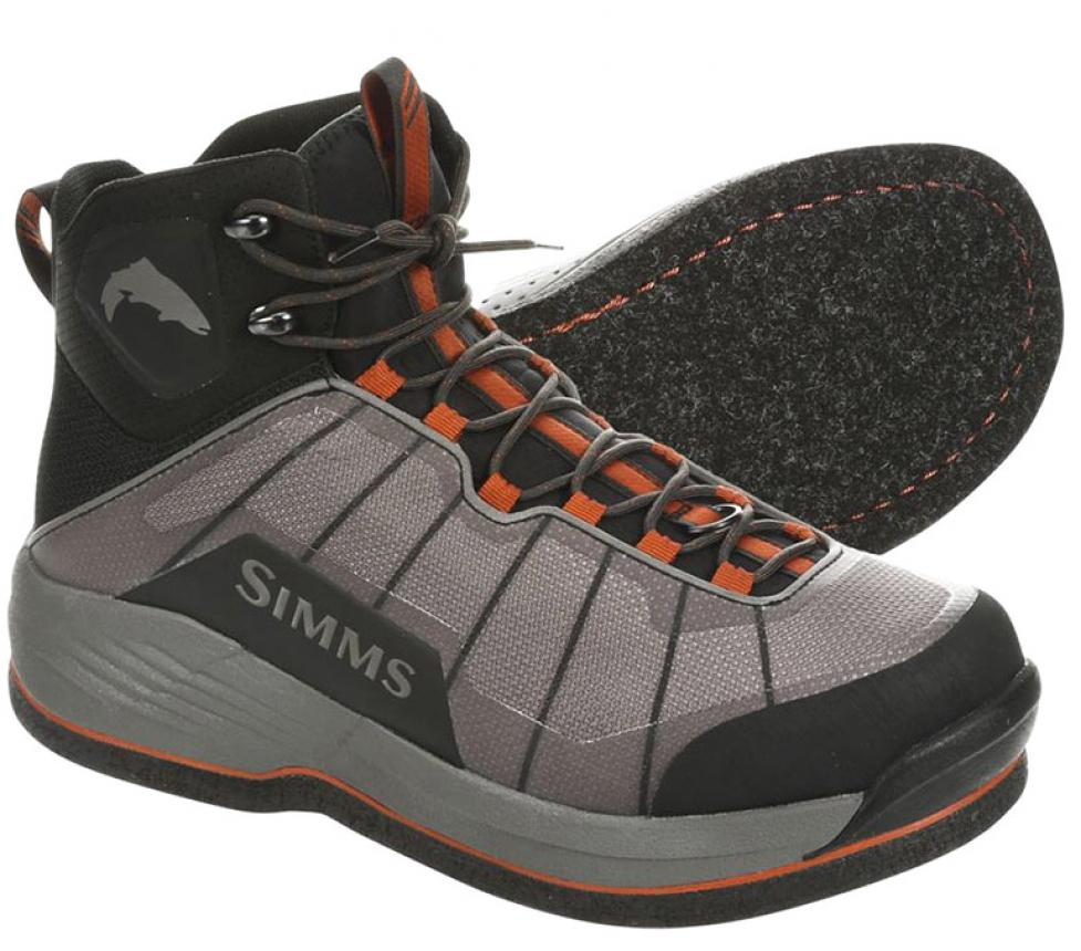 Ботинки Simms Flyweight Boot Felt 10 Steel Grey