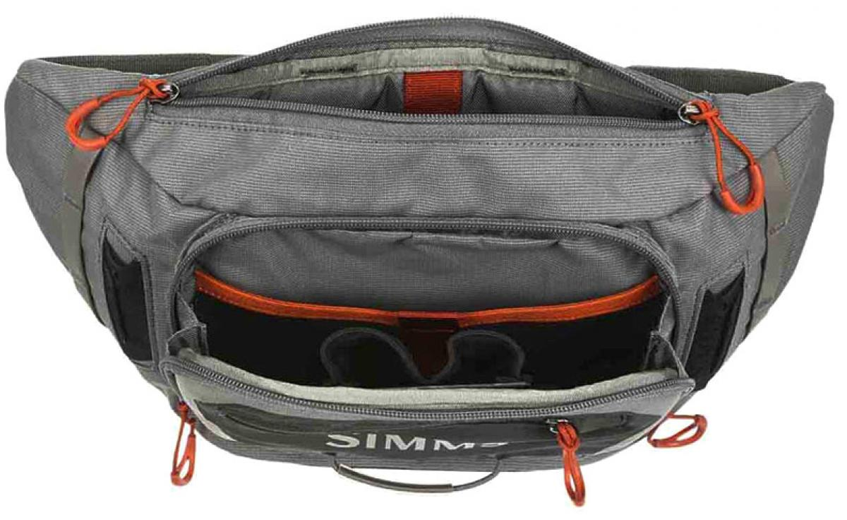Cумка Simms Freestone Tactical Hip Pack Steel 6L
