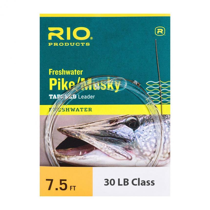 Подлесок Rio Pike/Musky II Knottable Wire Leader 7.5 ft 45lb 30lb Class