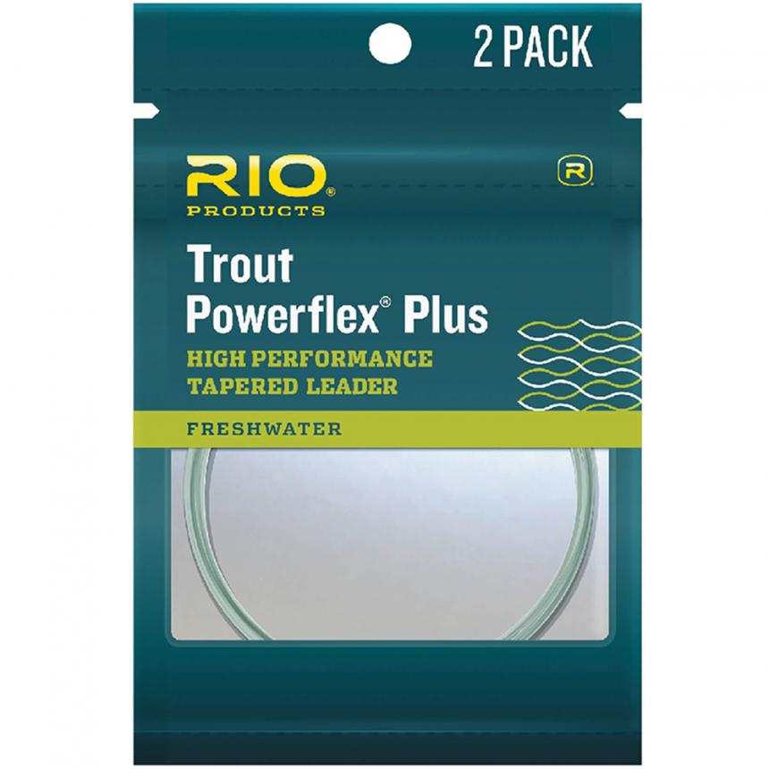 Подлесок Rio Powerflex Plus Leader 2 Pack 2X 7.5ft 12lb 5.4кг