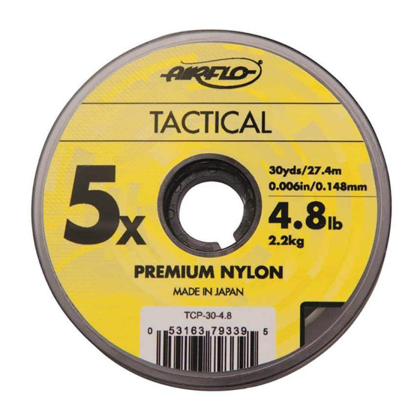 Поводковый материал Airflo Tactical Co-Polymer Leader Tippet 0X 27м 0,285мм