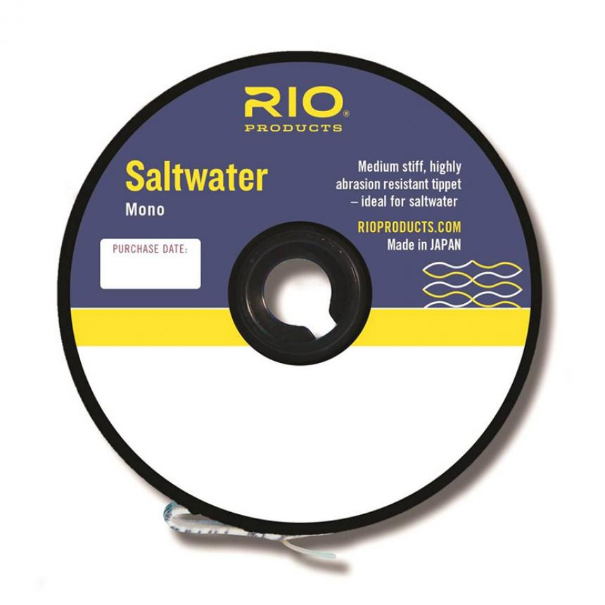 Поводковый материал Rio Saltwater Mono 45,7м 0,254мм