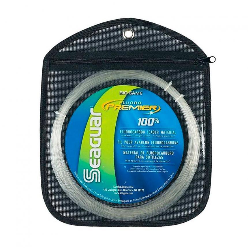 Поводковый материал Seaguar Fluoro Premier Big Game 15м 1,28мм