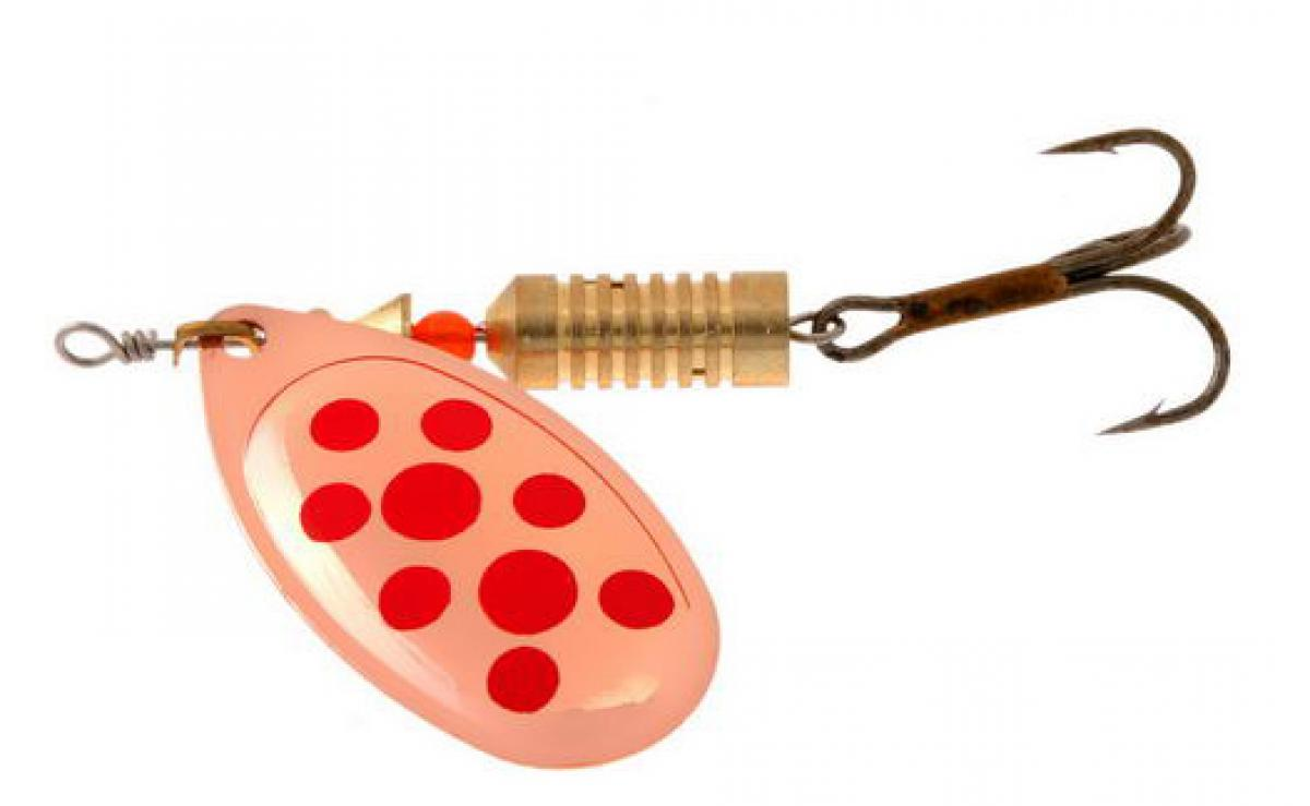 Блесна Norstream Aero Spinner 00 1,5гр copper red dots