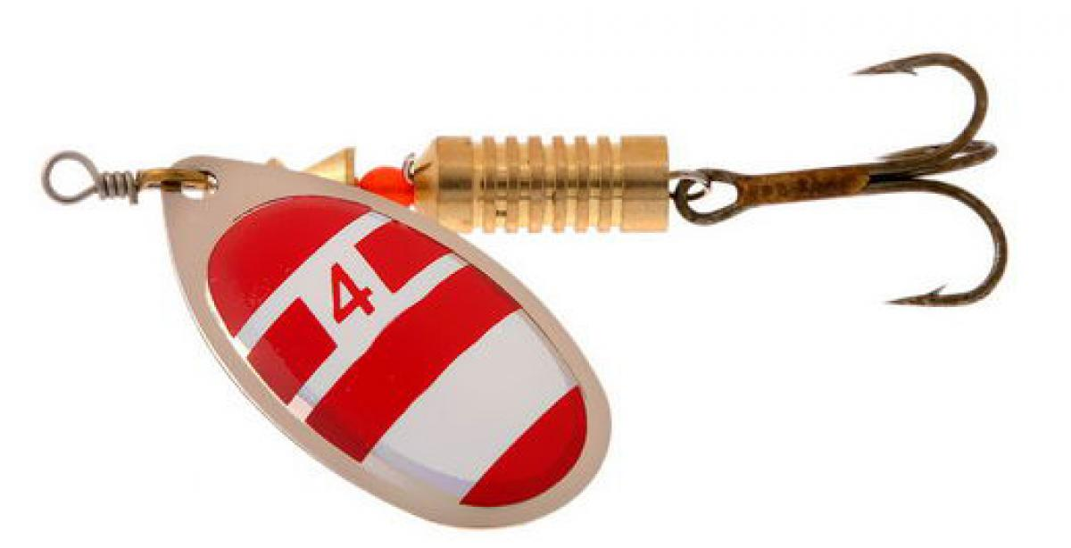 Блесна Norstream Aero Spinner 1 3,5гр silver/red/white - фото предоставленно поставщиком 1