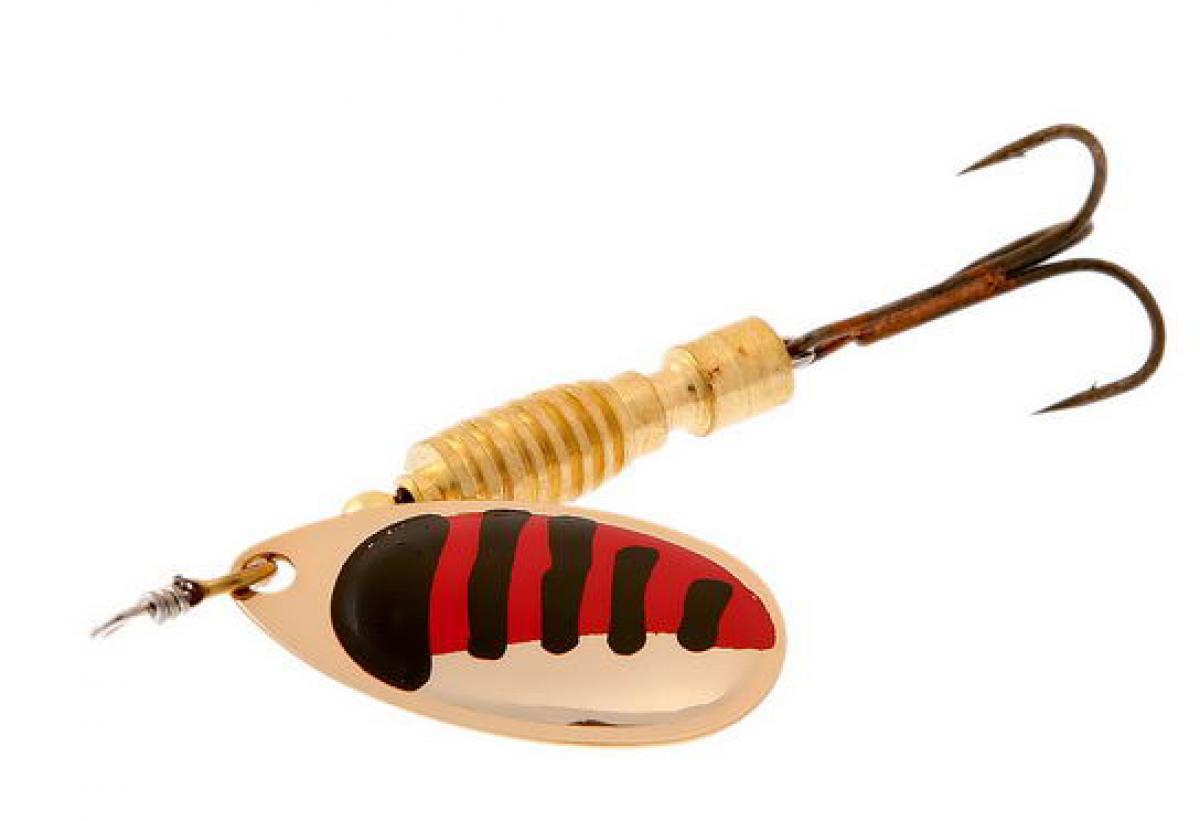Блесна Norstream Silta Spinner 0 2гр gold black/red