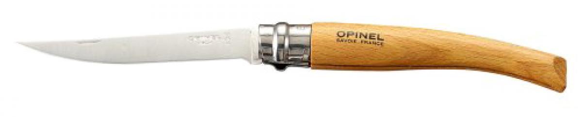 Нож Opinel №10 VRI Folding Slim Beechwood