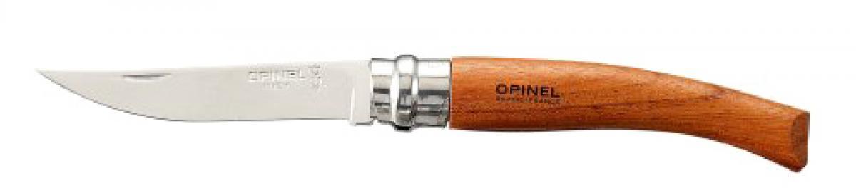 Нож Opinel №8 VRI Folding Slim Bubinga