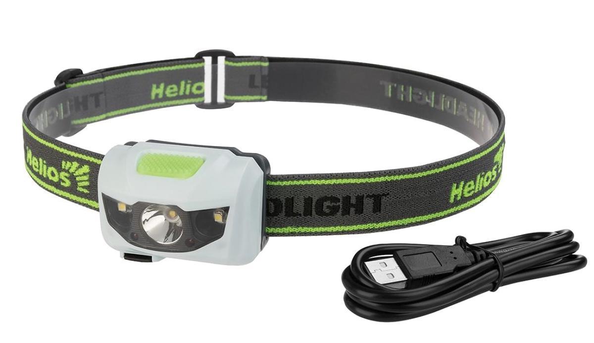 Фонарь налобный Helios 3155-USB