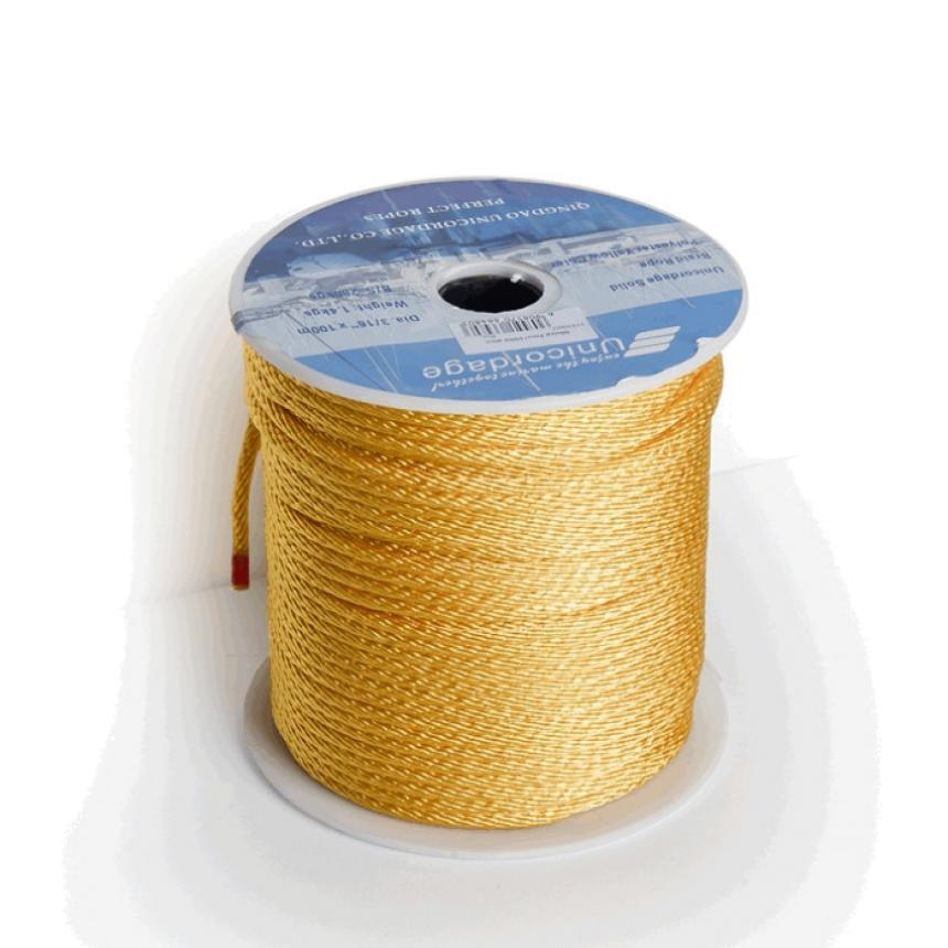Шнур Oingdao Unicordage Co LTD 5мм желтый