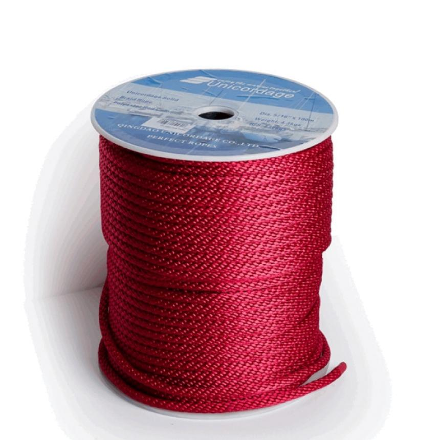 Шнур Oingdao Unicordage Co LTD 8мм красный