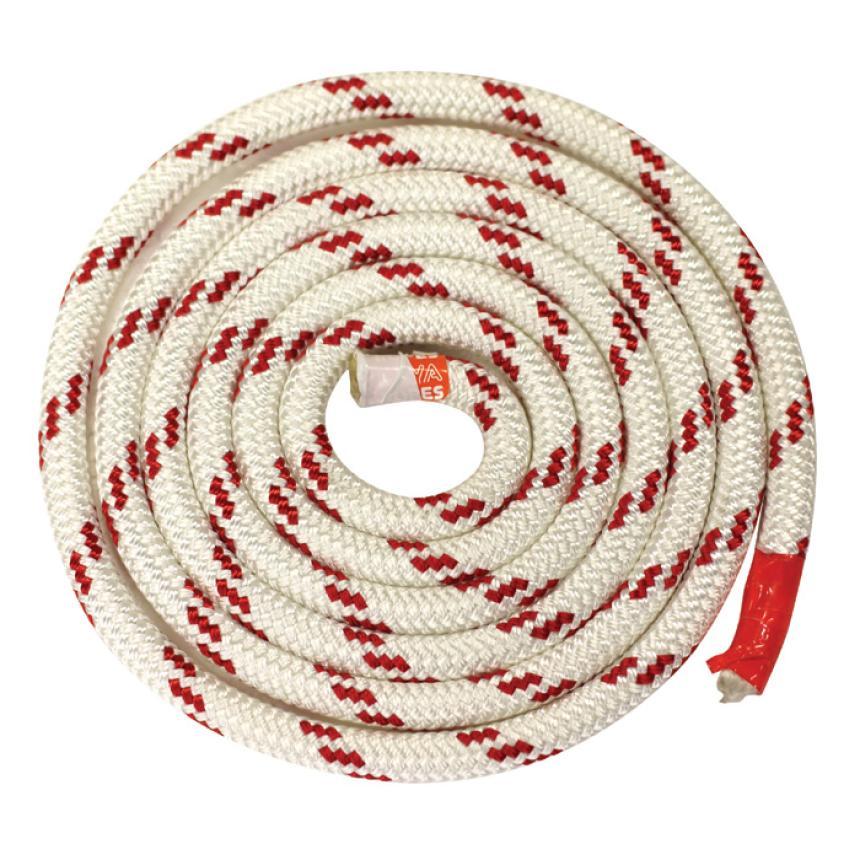 Трос Kaya Ropes Lupes LS 10мм бело-красный 200м