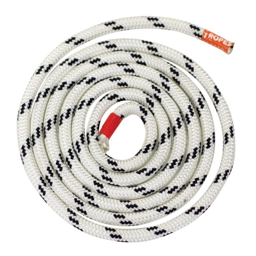 Трос Kaya Ropes Lupes LS 12мм бело-чёрный 50м