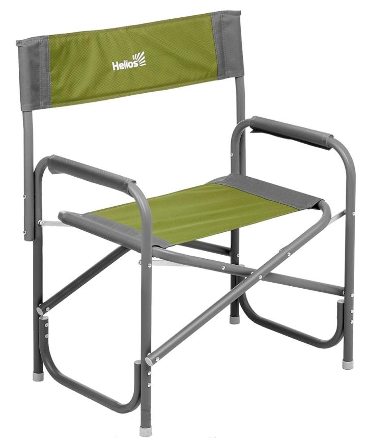 Кресло Helios MAXI серый/зеленый