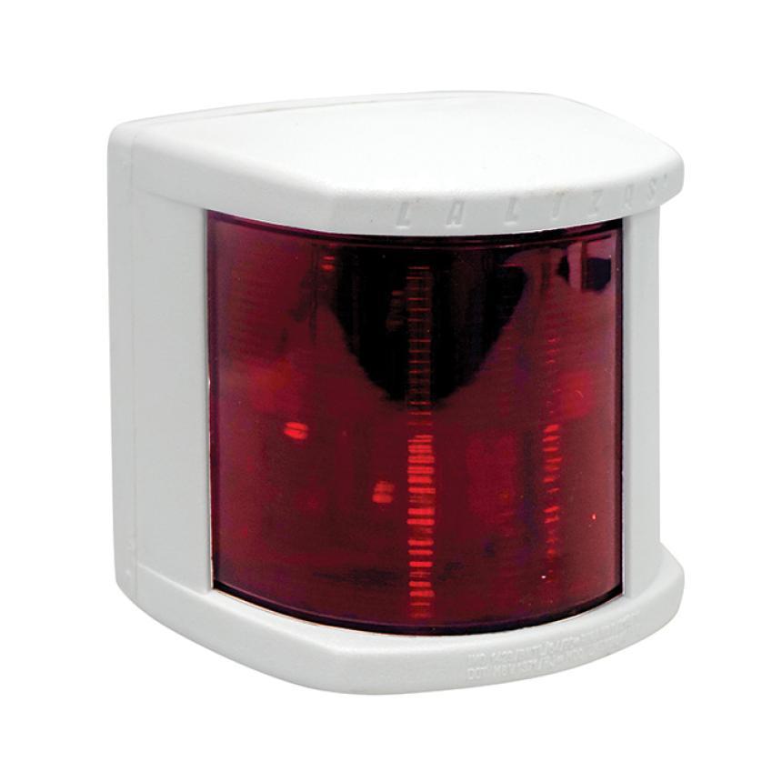 Огонь бортовой красный Lalizas серии Classic 20 белый корпус