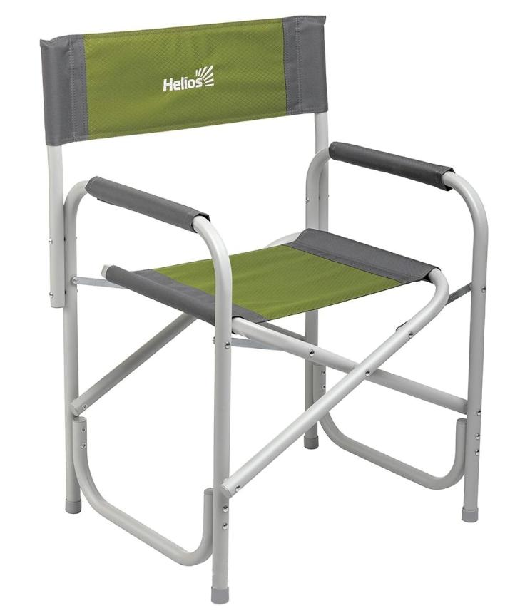 Кресло Helios серый/зеленый