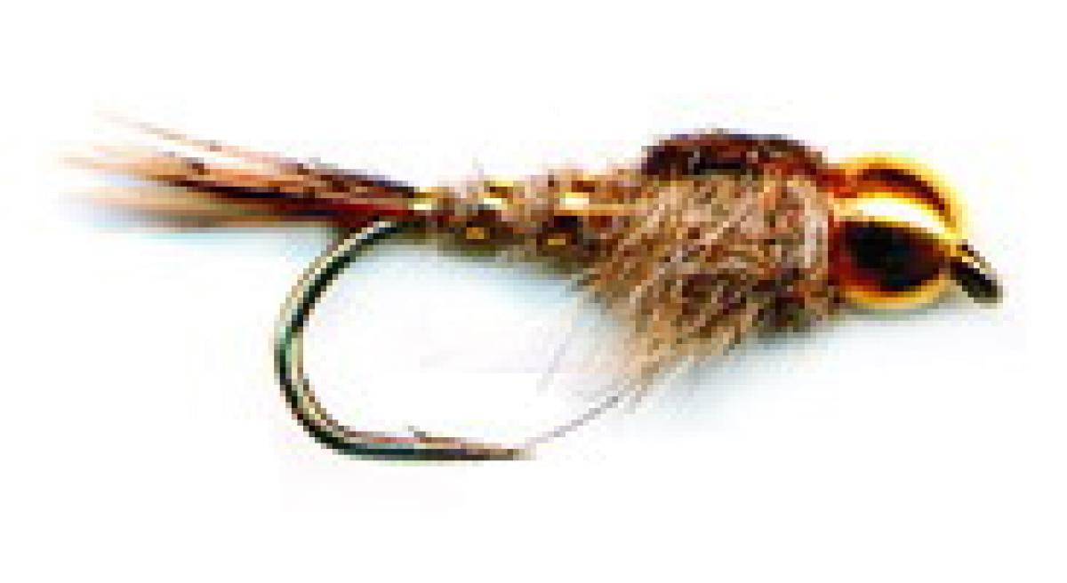 Мушка PFG Bead Hares Ear-Natural №14 B101