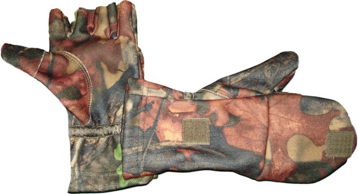 Варежки-перчатки XCH windblock M лес