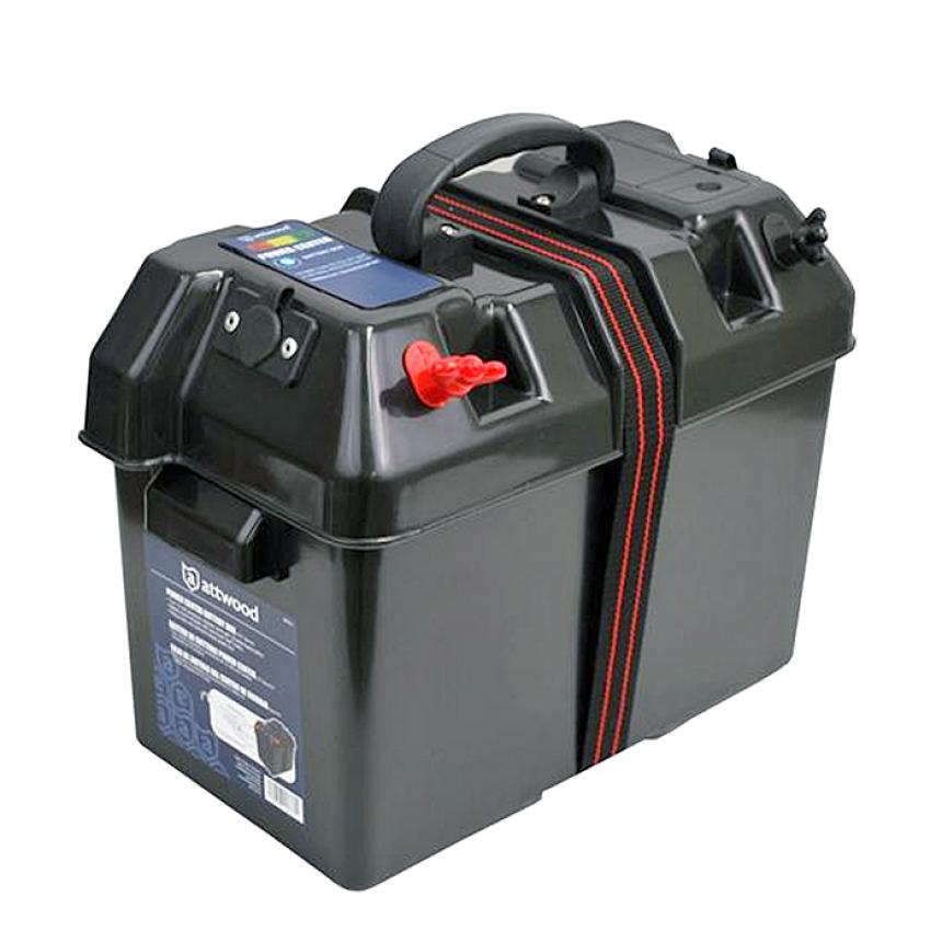 Коробка для аккумуляторной батареи Easterner 330х180х230мм многофункциональная крышка
