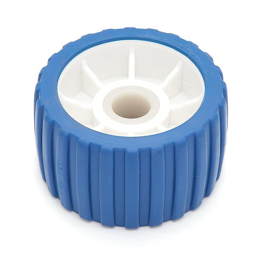 Колесо бортовое Easterner пластмассовое бело-синее