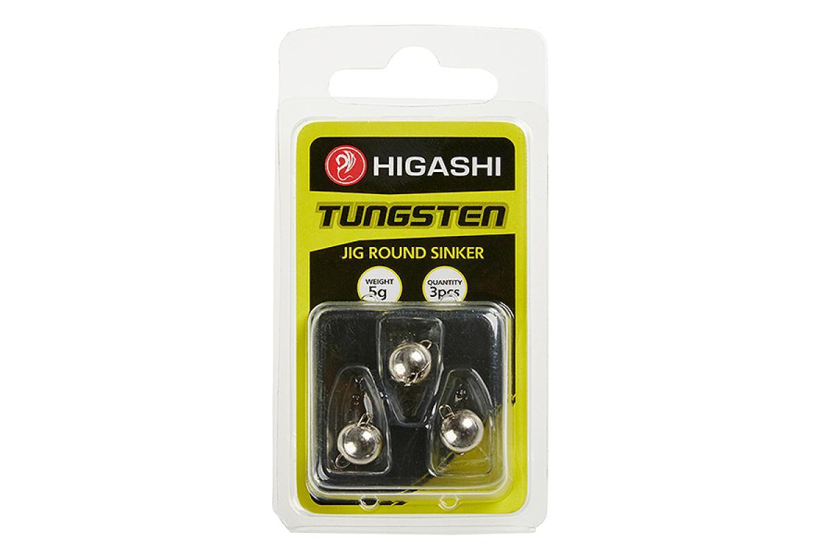 Груз Чебурашка Higashi Jig Tungsten Sinker R Chrome 1гр