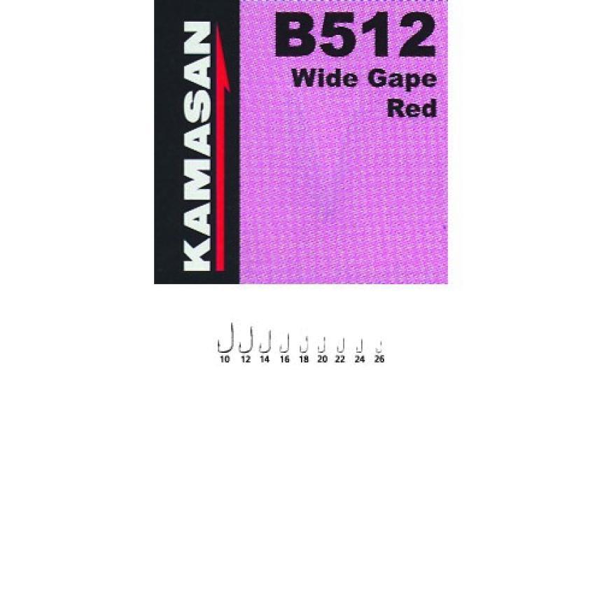 Крючок Kamasan В 512 №22