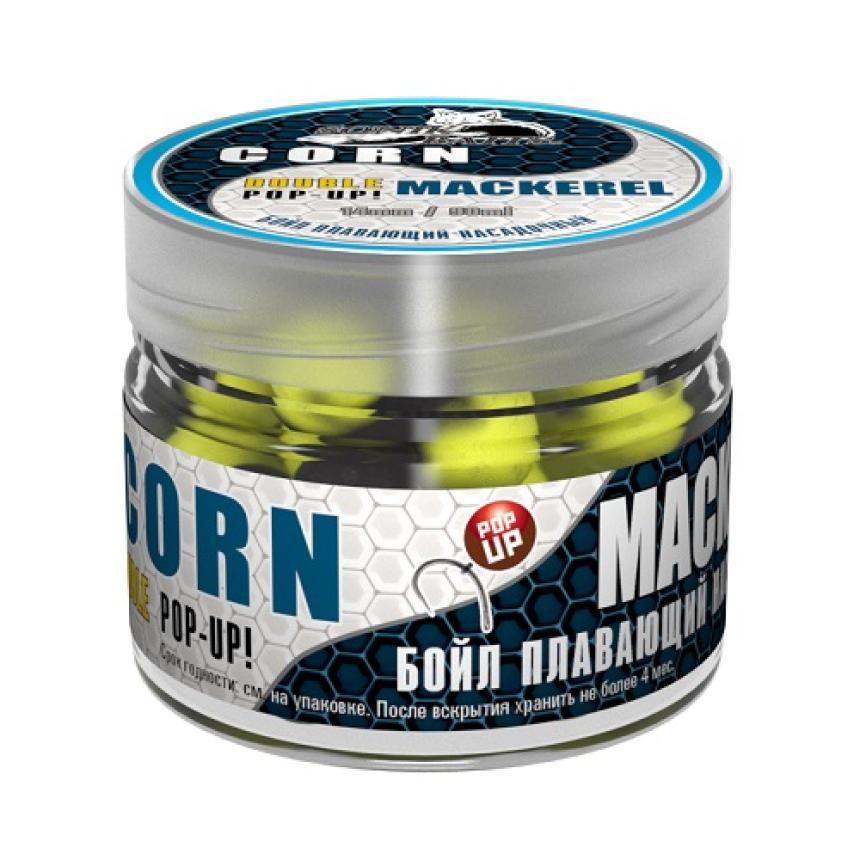 Бойлы Sonik Baits Pop-Up 14мм Corn+Mackerel Fluo