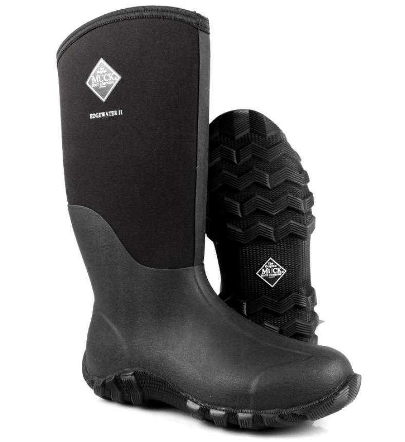 Сапоги Muck Boots Edgewater II Tall 13 Black