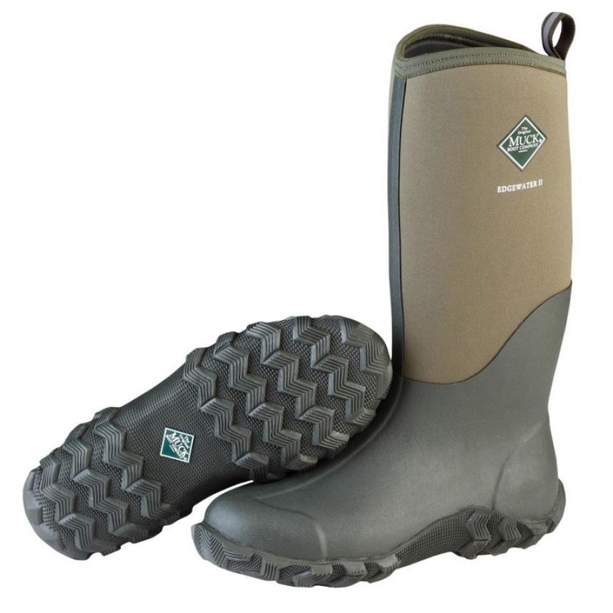 Сапоги Muck Boots Edgewater II Tall 12 Green