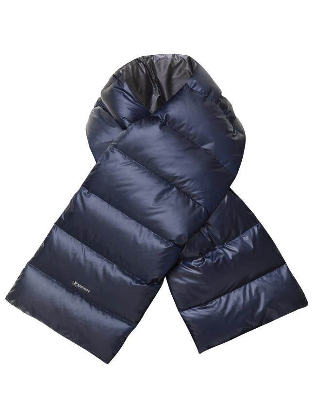 Шарф пуховый Bask D-Tube Scarf темно-синий