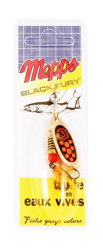 Блесна Mepps Black Fury Mouche 3 G Or 6,5гр блистер