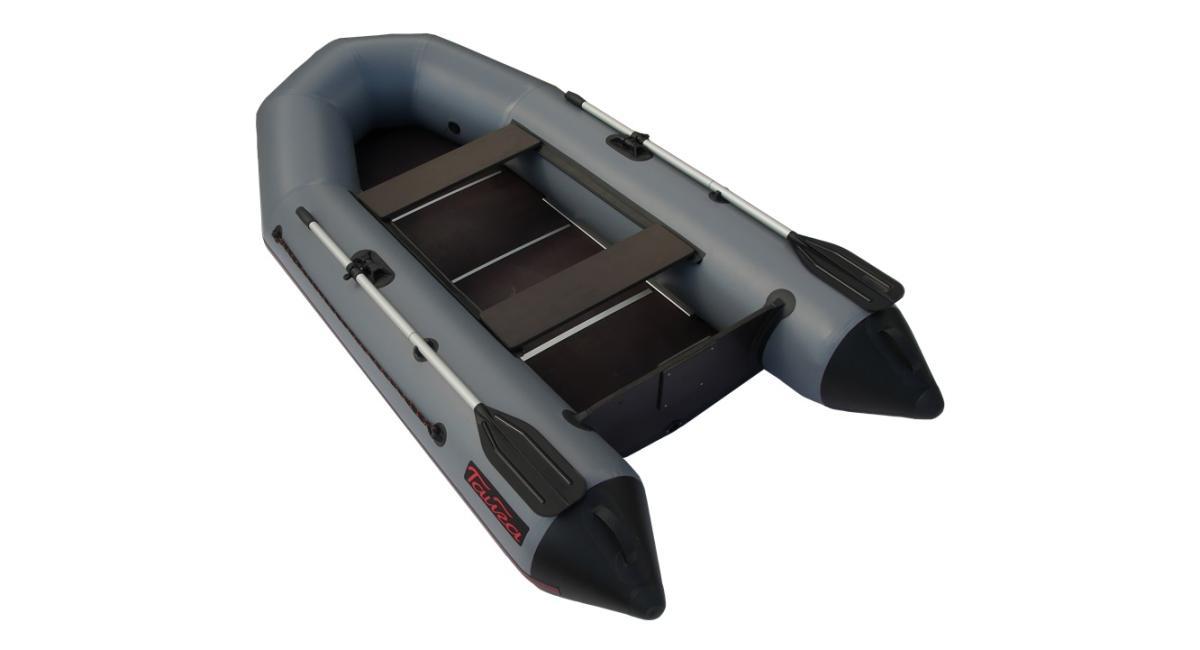 Лодка ПВХ Leader Тайга-290 серый