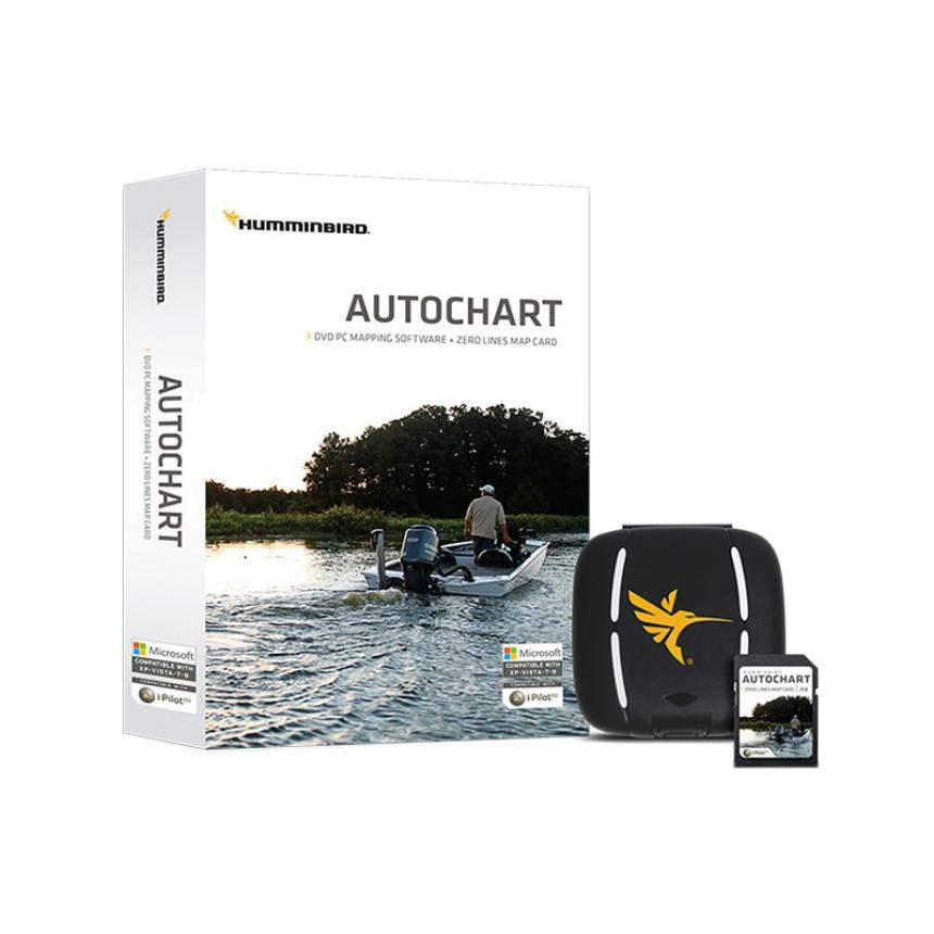 Программное обеспечение Humminbird AutoChart PRO PC Software (micro SD)