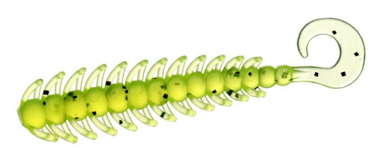 "Приманка Flagman Kemushi 2"" Chartreuse"