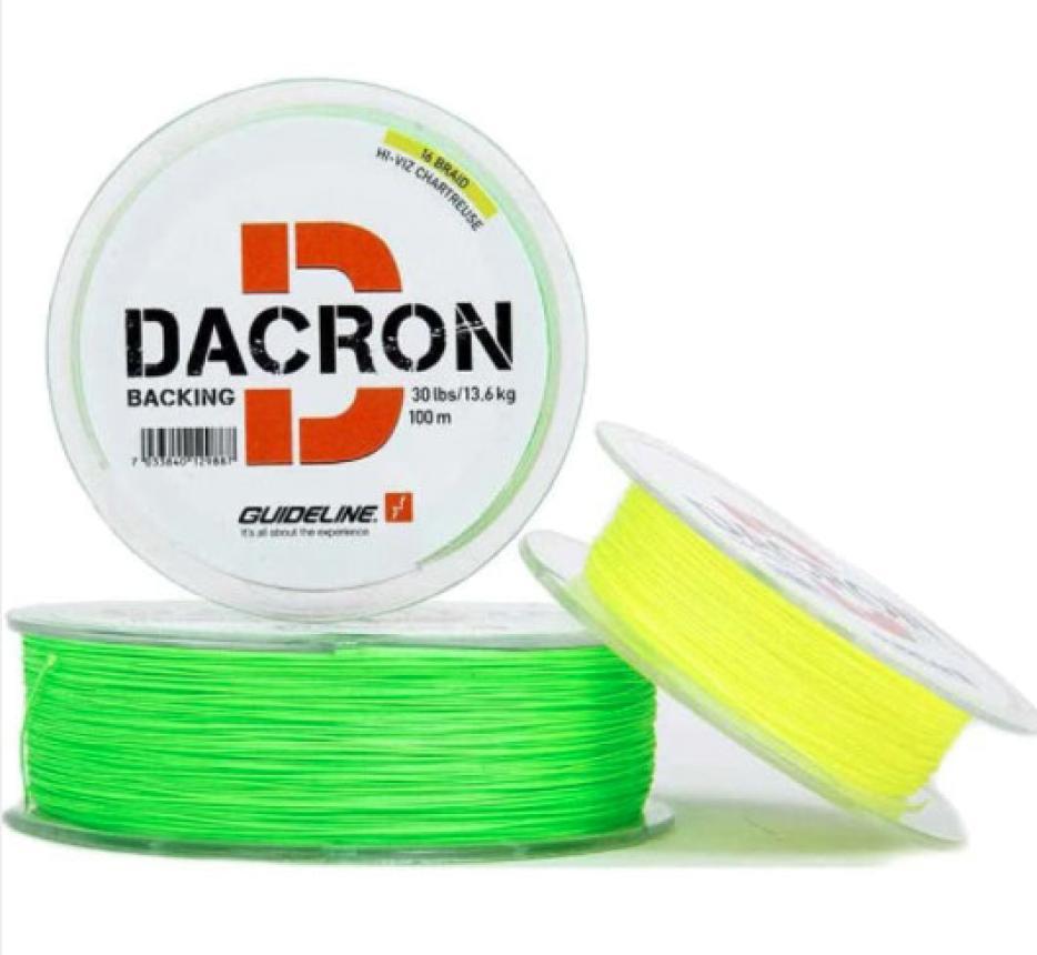 Бэкинг Guideline Darcon Backing 100м 20lb Yellow