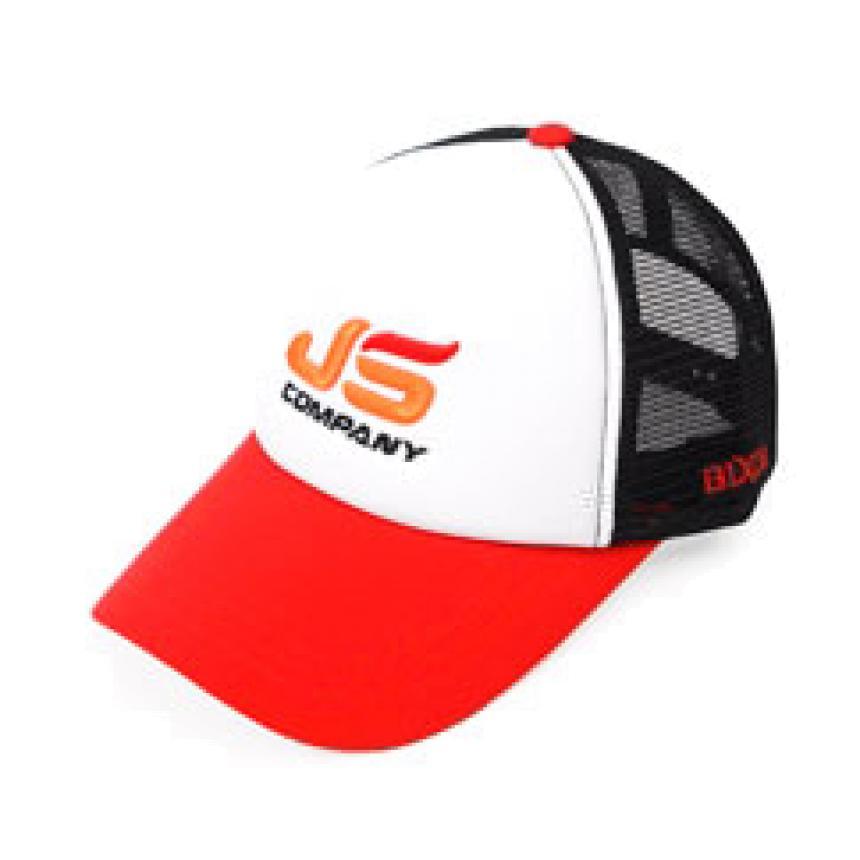 Кепка JS Company Redblack Mesh Cap JScp016