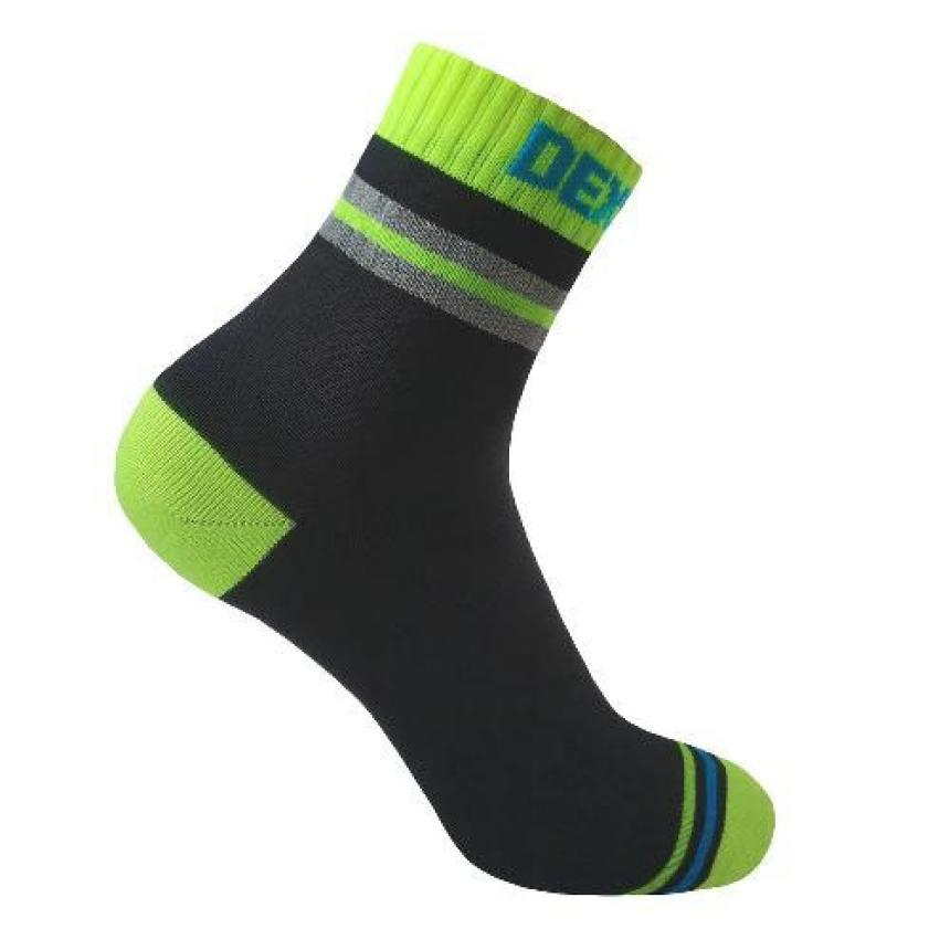 Носки водонепроницаемые DexShell Pro Visibility Cycling M зеленый